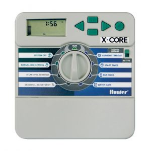 Hunter 240vac powered Controllers with 24vac outputs, valves and accessories