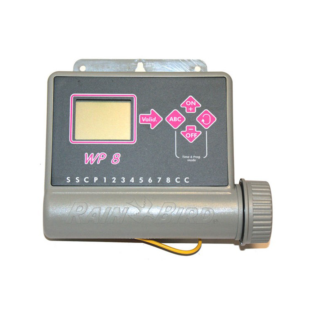 wp 8 8 station battery powered controller evergreen irrigation ltd rh evergreen irrigation co uk