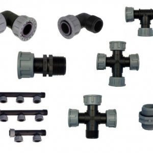 Plastic Manifolds, modular and parts